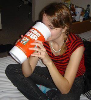 Bebidas gigantes en Estados Unidos. Double Gulp