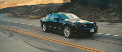 """Ford Mustang en """"Drive"""" (2011)"""
