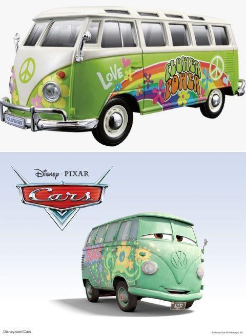 Fillmore es en realidad una furgoneta Volkswagen T1