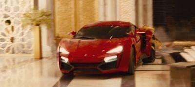 """W Motors Lykan Hypersport en """"Furious 7"""" (2015)"""