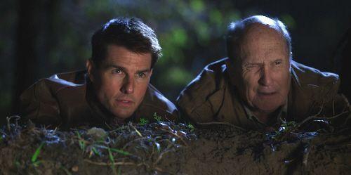 "Tom Cruise y Robert Duvall en ""Jack Reacher"" (2012)"
