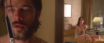 """Brad Pitt en """"Kalifornia"""" (1993)"""