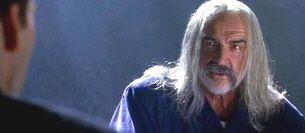 """Sean Connery en """"La Roca"""" (""""The Rock"""", 1996)"""