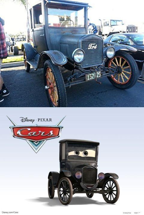 Lizzie es en realidad un Ford T de 1923