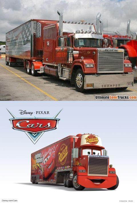 Mack es en realidad un camión Mack Super Liner de 1980