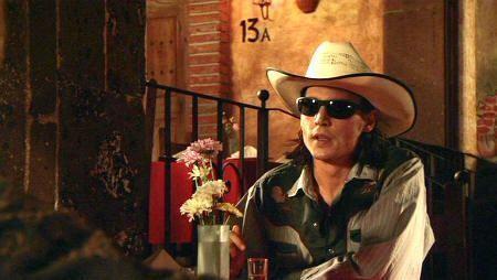 """Johnny Depp en """"El Mexicano"""" (""""Once Upon a Time in Mexico"""")"""