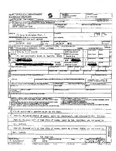 Informe Policial. Haz click para ver en grande