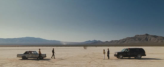 """Desierto de Nevada. """"Resacón en Las Vegas"""" (""""The Hangover"""", 2009)"""