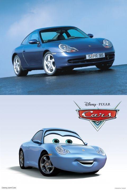 Sally Carrera es en realidad un Porsche 911 Carrera