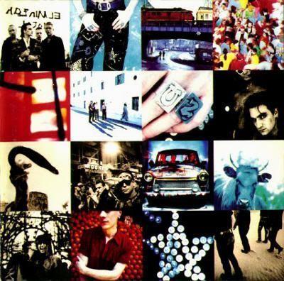 """Portada del álbum """"achtung baby"""" de U2"""