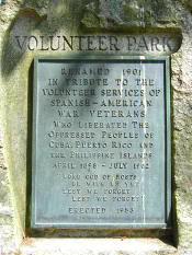 Placa del Volunteer Park (Seattle)