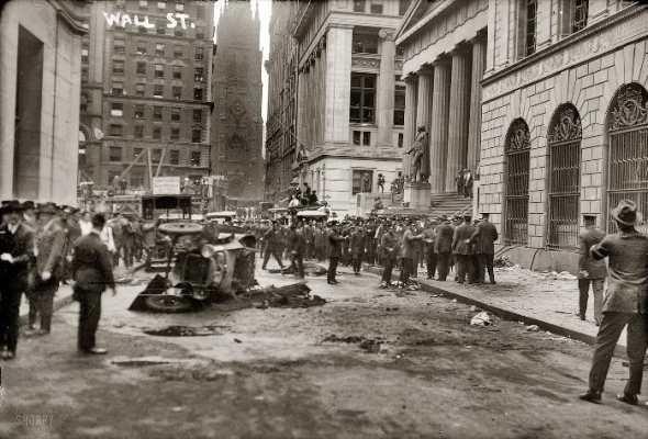 Foto del atentado (George Grantham Bain Collection)