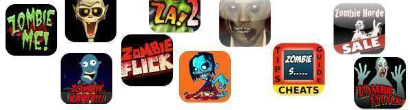 Muchas apps de zombis