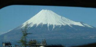 Foto del Fuji que tomamos desde el shinkansen