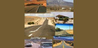 Millas de desierto, kilómetros de nada