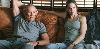 """Million Dollar Baby"" con Clint Eastwood y Hilary Swank"