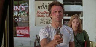"Clint Eastwood y Sondra Locke en ""Ruta Suicida"" (""The Gauntlet"", 1977)"
