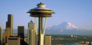 El Space Needle, la nota diferencial del skyline de Seattle
