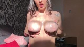 4K Ahegao Sunshine Oily TittyFuck