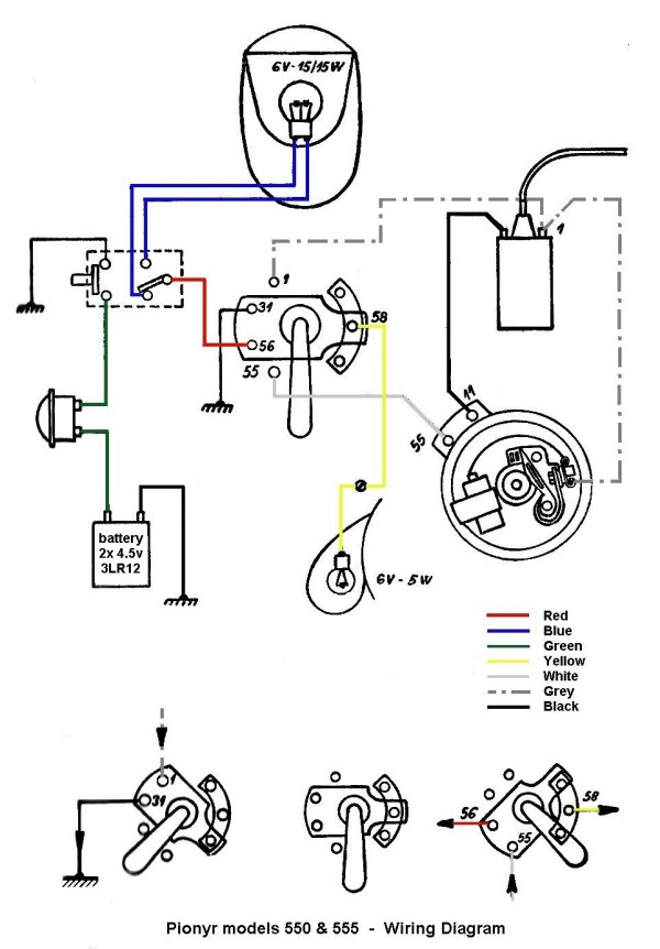 Moped Wiring Diagram Moped Ignition Diagram Wiring Diagram