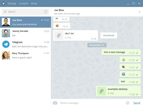 Download Telegram for PC Terbaru