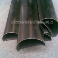 Stainless Steel Half Round Pipe/Tube - Jaway Steel