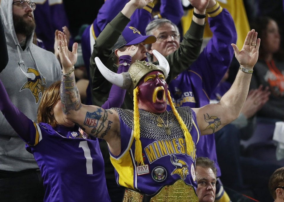 Vikings Fans Are Scared Of Eagles Fans Jawnville