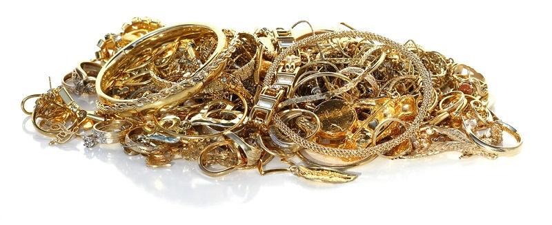 An Image of some scrap gold