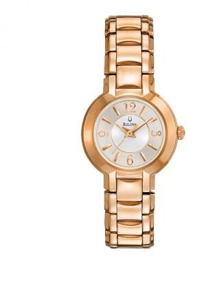 Ladies Bulova Gold Plated Watch