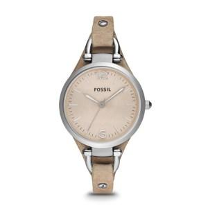 Georgia Bone Leather Watch