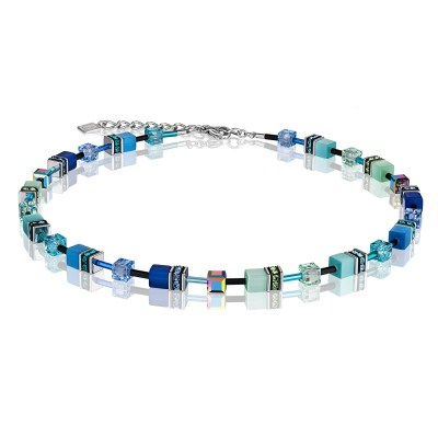 Coeur De Lion Geocube® Necklace – Blue & Green