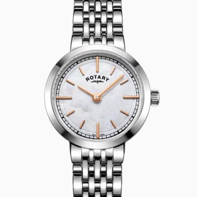 Rotary Ladies Stainless Steel Mop Watch