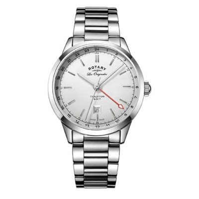 Rotary Tradition Gents Gmt Swiss Watch