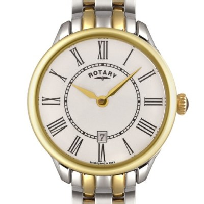 Rotary Ladies Two Tone Elise Watch