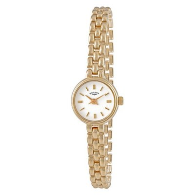 Ladies Gold-Plated Cocktail Watch