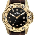 Rotary Aquaspeed Ladies Stone Set Bezel Date Display Watch