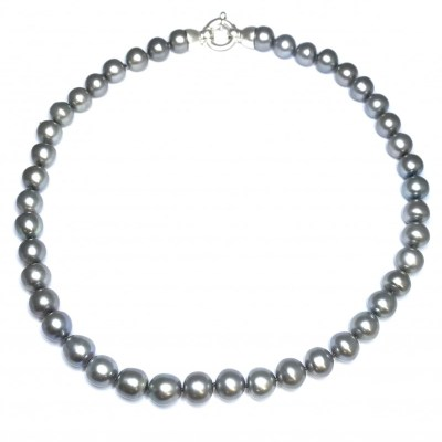 Fresh Water Pearl Necklace – Black