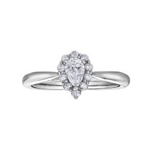 18Ct White Gold Diamond Ring – Maple Leaf Diamonds
