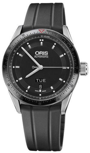 An image of the mens Oris Artix GT day date watch