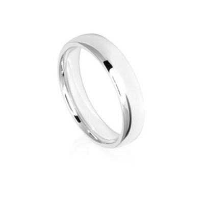 5mm Low Dome Comfort Fit Wedding Ring Band