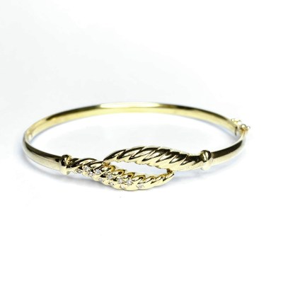Second Hand 9ct Yellow Gold Bangle
