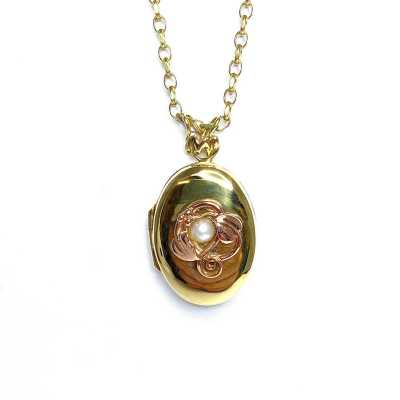 Second Hand 9ct Yellow Gold Clogau Locket