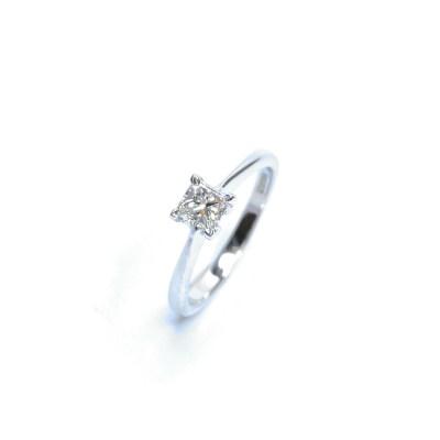 Second Hand 18ct White Gold Diamond Ring
