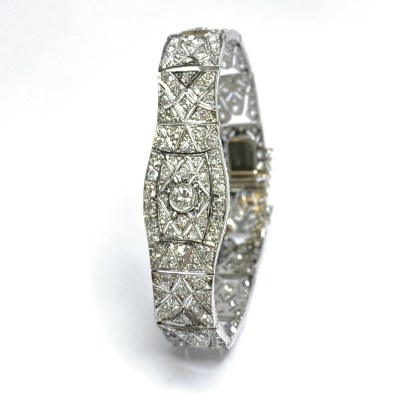 Second Hand Platinum Diamond Bracelet