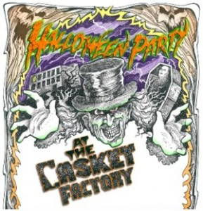 Halloween at the Casket Factory! @ The Florida Casket Factory | Jacksonville | Florida | United States