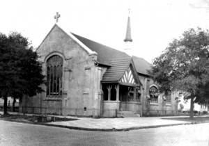 Henrietta Dozier designed the Saint Philips Episcopal Church  which was constructed around 1903 at 801 North Pearl Street