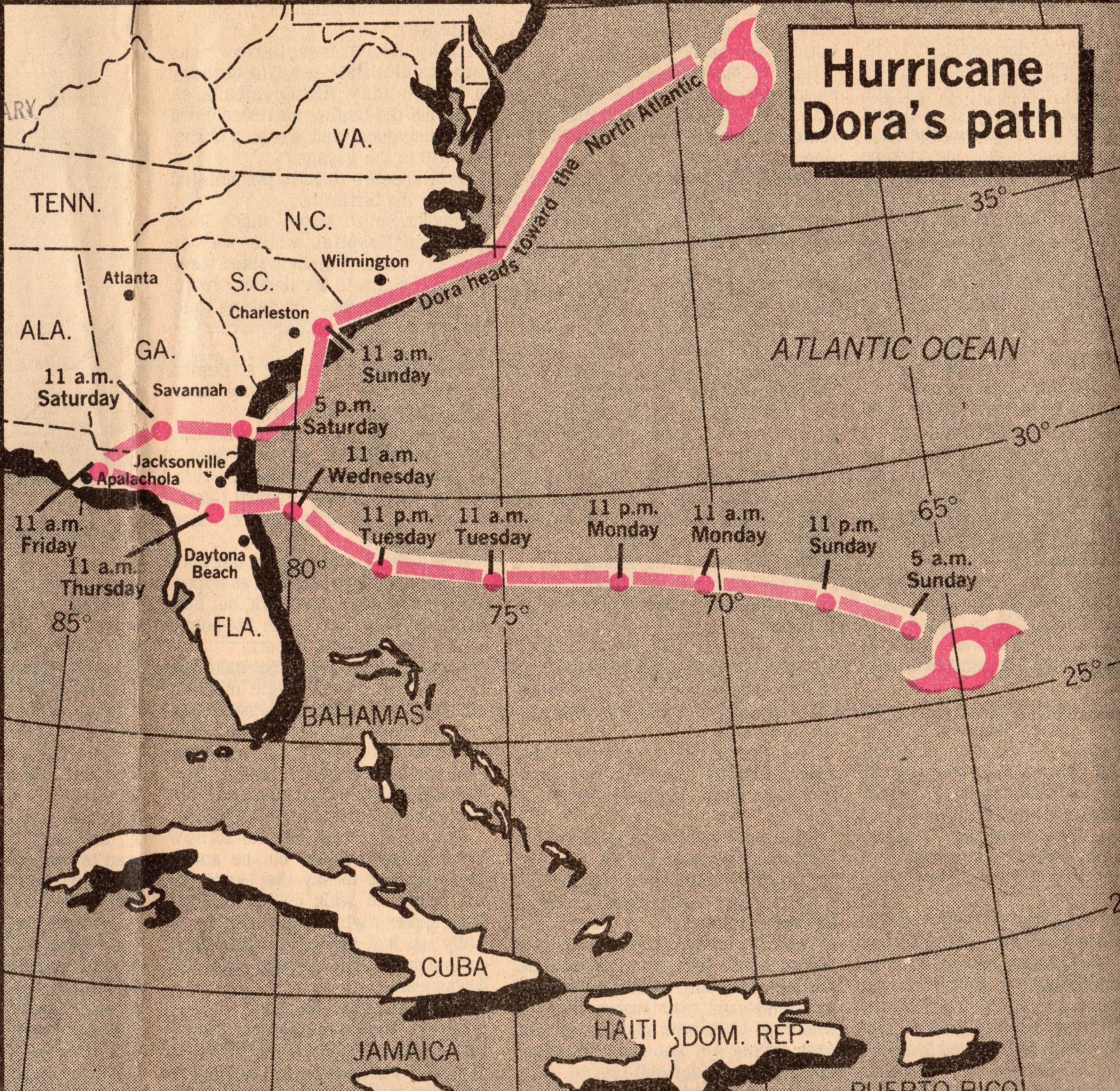 Remembering Hurricane Dorathe Jacksonville Historical Society