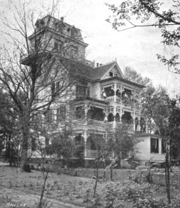 Greeley house from side