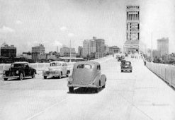 Main Street Bridge, 1940s.
