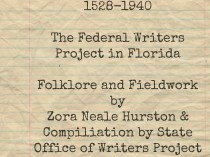 Documenting the African American Community: Viola B. Muse and the Federal Writers Project in Jacksonville